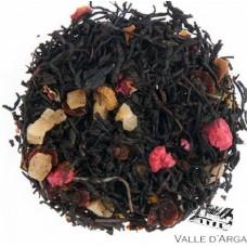 Chá preto e Framboesa