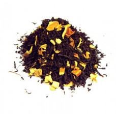 Chá preto com laranja